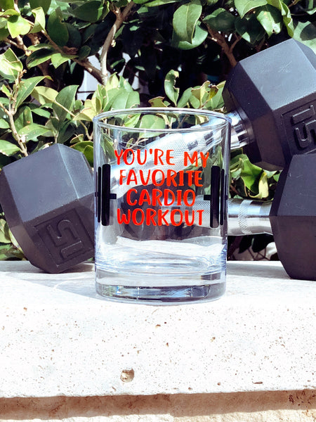 Funny valentines gift for him, funny valentines gift for husband, valentines gift for him, funny gift for athlete, whiskey glass for athlete