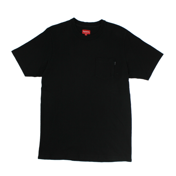 Supreme Pocket Tee (BLACK)