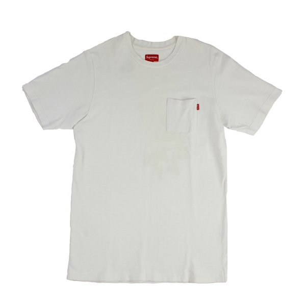 Supreme Pocket Tee (WHITE)