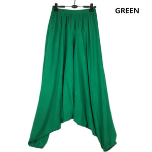 Loose Harem Pants Elastic Waist  M-4XL 5XL - Shop Livezy Lane
