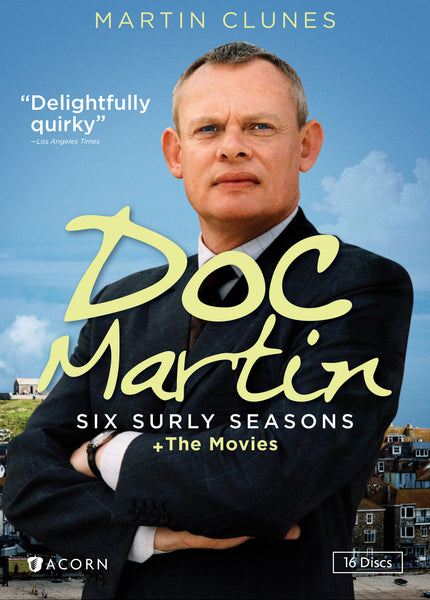 Doc Martin: Six Surly Seasons + The Movies (16-DVD Set)