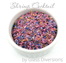 Load image into Gallery viewer, Shrimp Cocktail frit blend by Glass Diversions