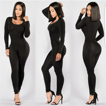 Load image into Gallery viewer, O-Neck Long Pants Women Jumpsuits