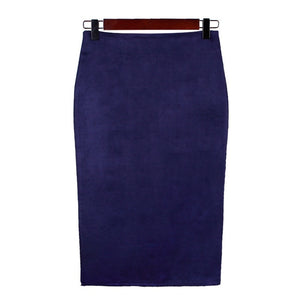 Vintage Split Thick Stretchy Skirt