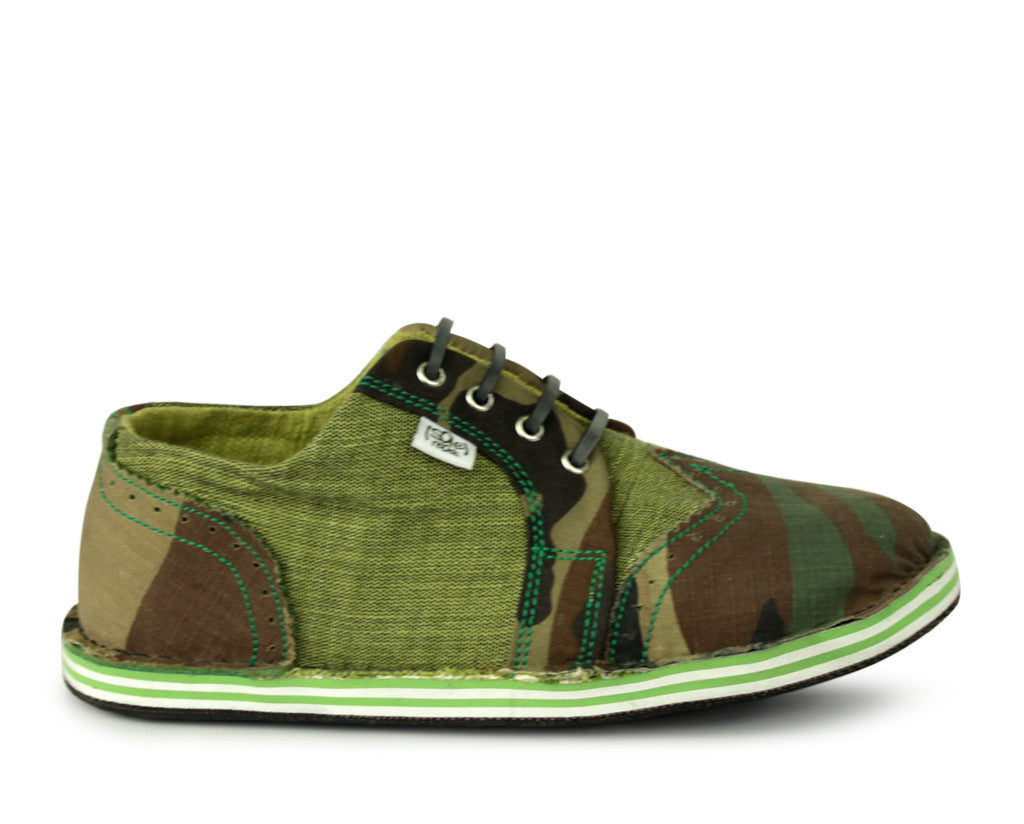 solerebels Green the SURGE camy Lace-Ups