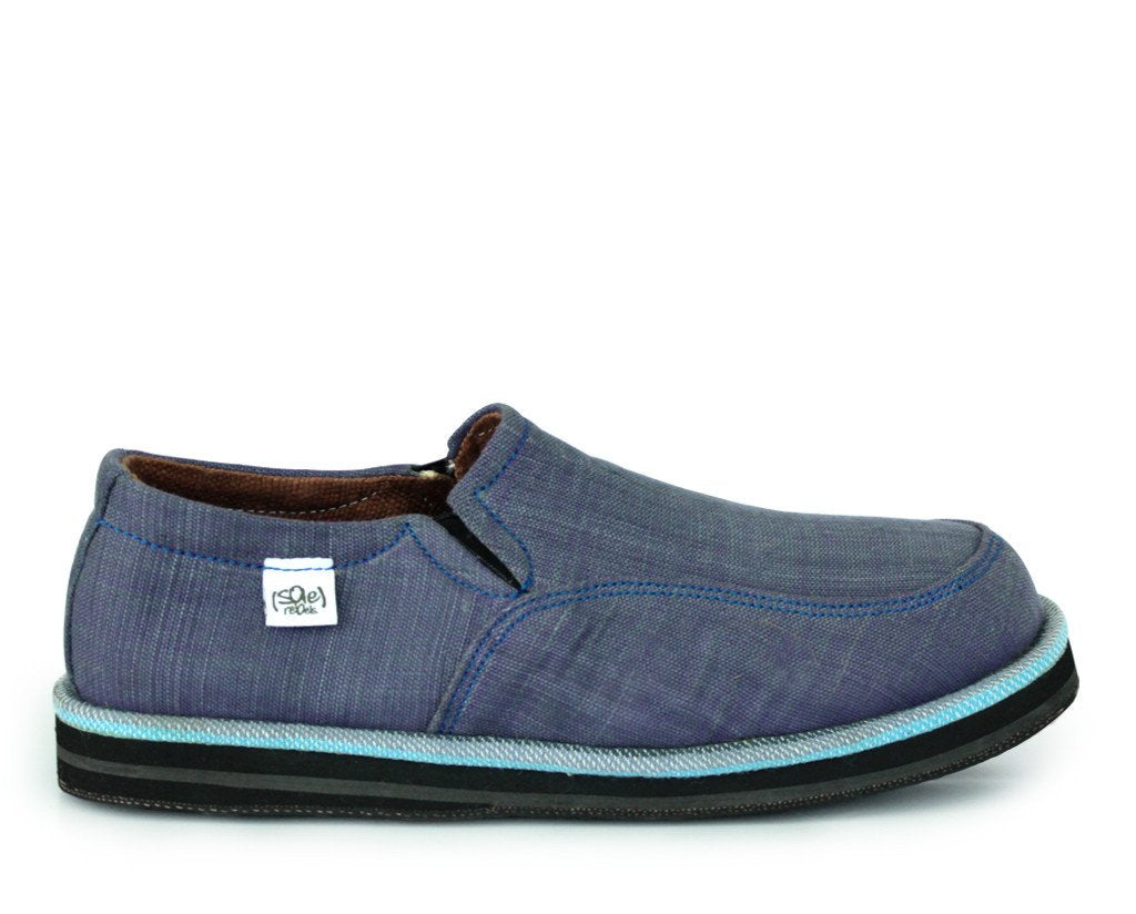 solerebels Blue abyssinian PURE mSh Slip-Ons