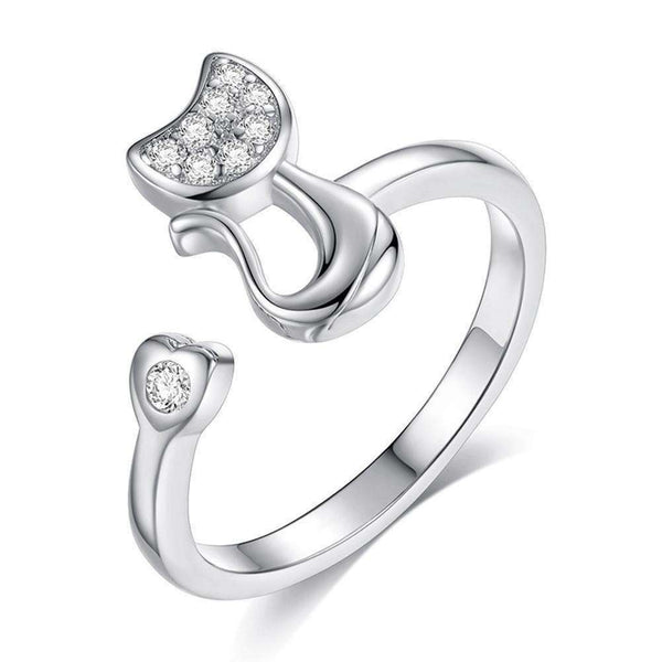 Cat Jewelry Ring