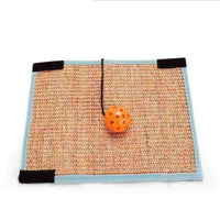 Cats Scratching Board