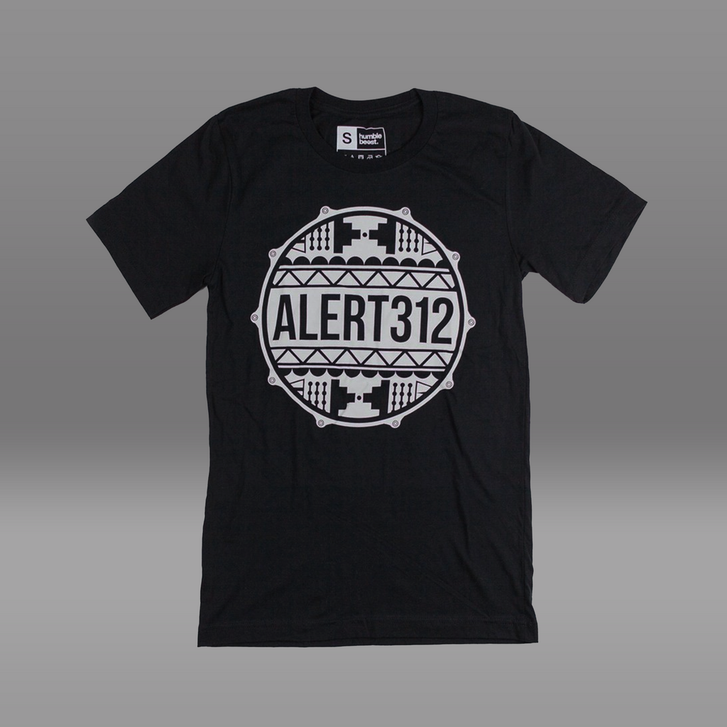 ALERT312 Drum Head T-Shirt