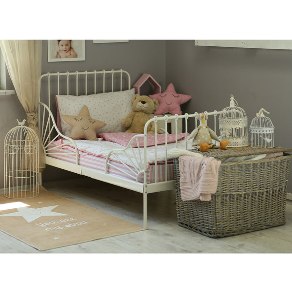 3 Piece Toddler Bedding Set, Pink
