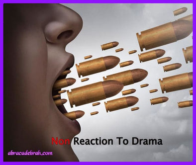 Non Reaction To Drama Mediation Clearing