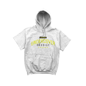 Lime Undercover Prodigy Logo Gray SS Hoodie