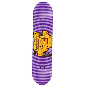 Purple Cheese Skate Deck
