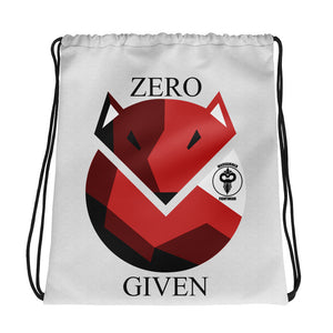 Zero Fox Given Warhammer Drawstring bag