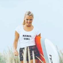 Load image into Gallery viewer, 100% Organic 'Rebel Girl' Women's tee