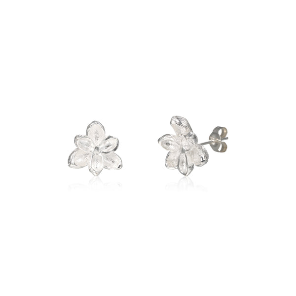 "荷花 ""銀"" 耳環 - Summer Dream ""Silver"" Earrings"