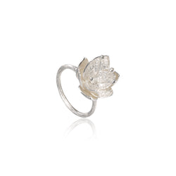"荷花 ""銀"" 戒指 - Summer Dream ""Silver"" Ring"