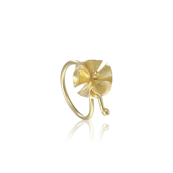 "繡球花 ""純金"" 戒指 - Spring Bloom ""Solid Gold"" Ring"