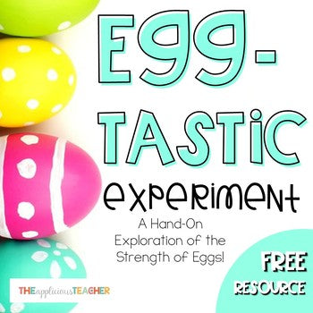Egg Experiment Free Printable
