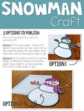 Snowman Writing How to Expository Writing and Craft