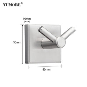 Double V Shape Stainless Steel Wall Hook