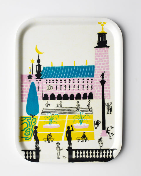 Stockholm City Hall  - Tray - 1939