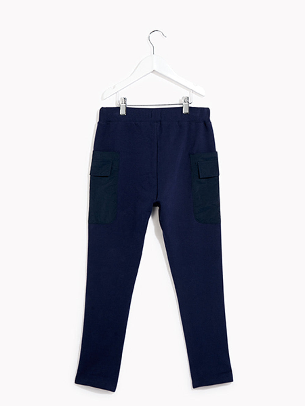Boys Joggers Tracksuit Bottoms - Campus Navy Sweat Trouser