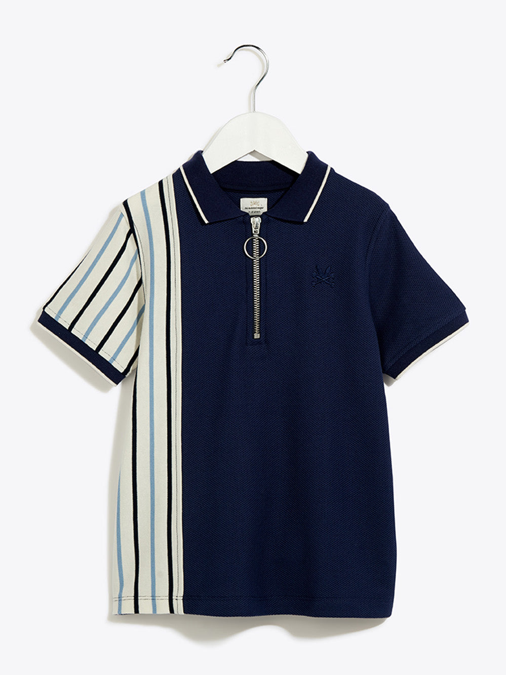 Boys Smart Polo Shirt - Prepster Navy Top Prepster