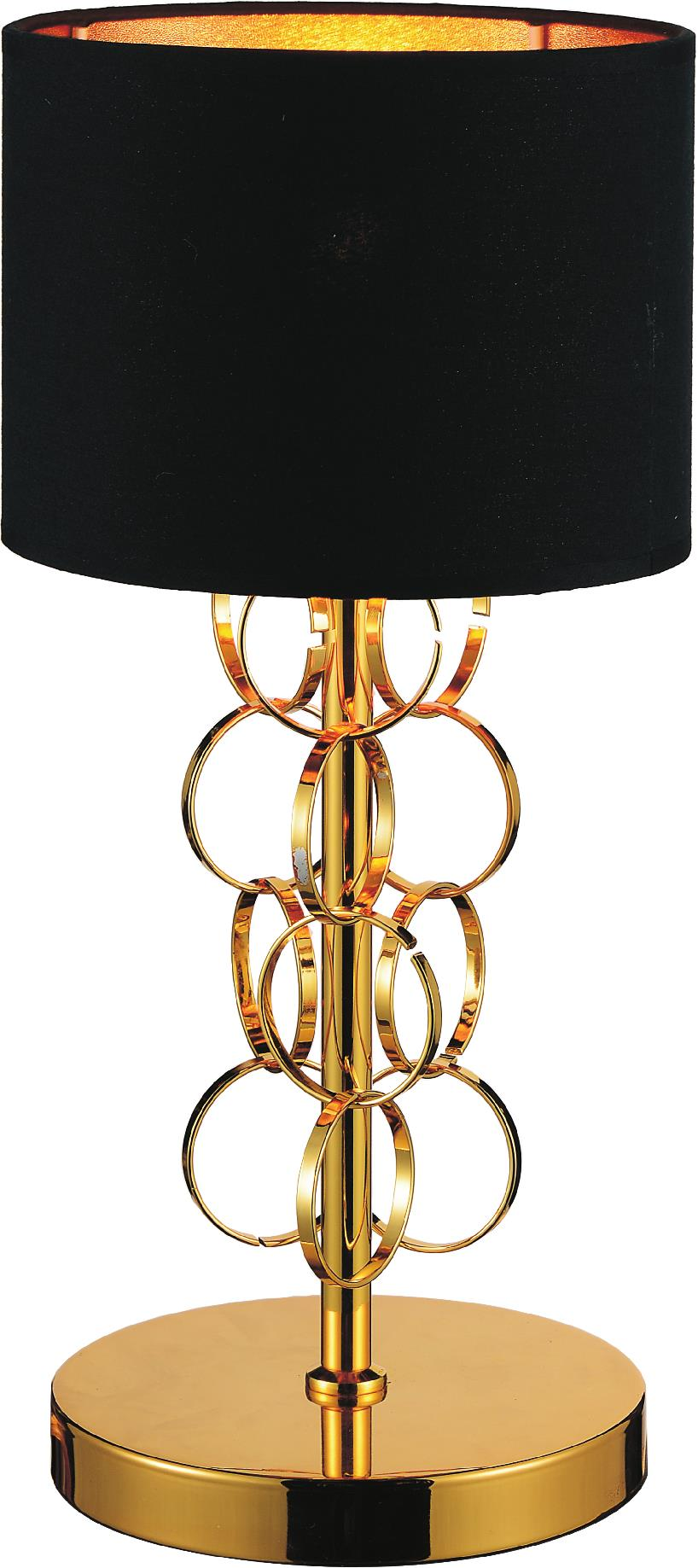 1 Light Table Lamp with Gold finish