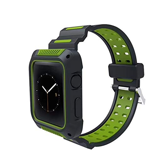 Silicone Case Protector Cover for Apple Watch 42mm  Seies 1, 2, & 3