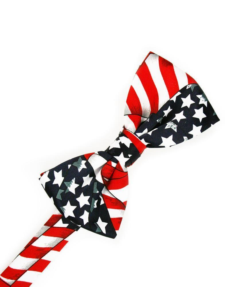 Waving Flags Bow Tie