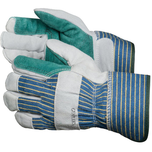 Double Palm Cowhide Leather Gloves