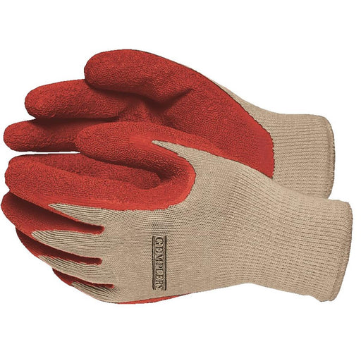 Latex-Coated Work Gloves, Dozen Pair