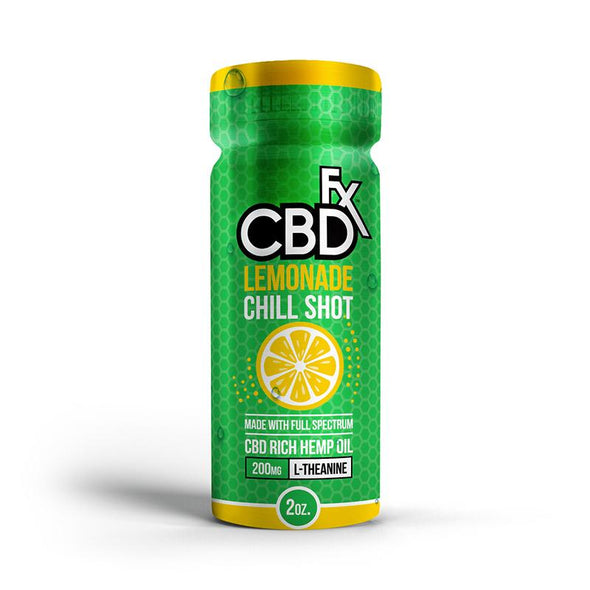 CBDfx | CBD Drink Lemonade Chill Shot 20MG CBD Drinks & Beverages CBDfx
