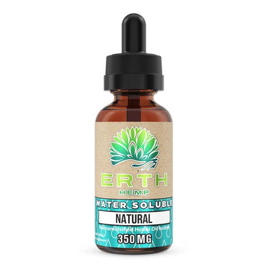 ERTH HEMP | Nanoemulsified Water Soluble CBD Hemp Oil 350MG CBD Oil ERTH HEMP