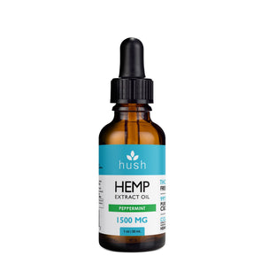 HUSH | Hemp Extract Oil Peppermint 1500MG CBD Oil Hush CBD