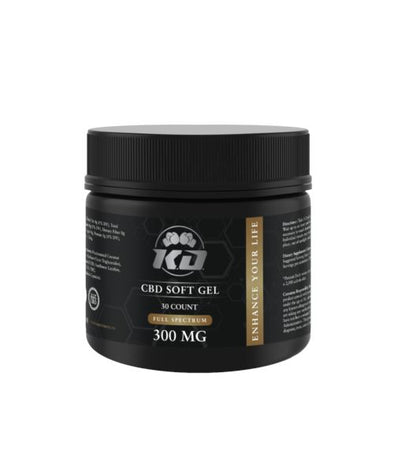 Knock Out | CBD Soft Gel Capsules 300MG CBD Capsules Knock Out