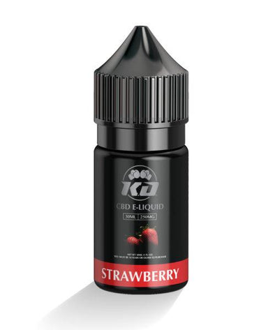 Knock Out | CBD Vape Juice Strawberry CBD Vape Juice Knock Out