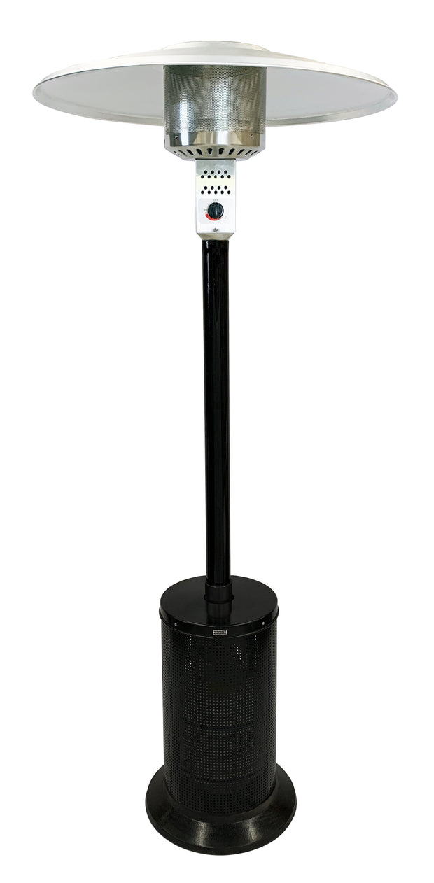Black Mushroom Style Patio Heater
