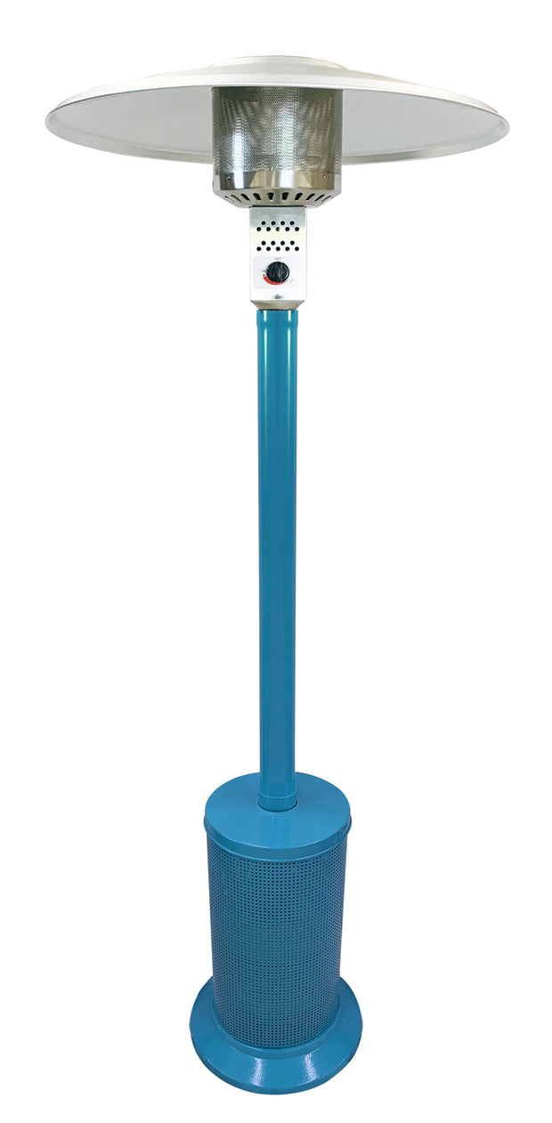 Light Blue Mushroom Style Patio Heater
