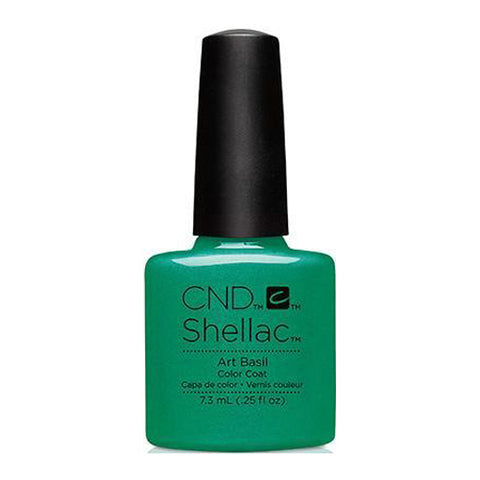 CND Shellac - Art Basil 0.25 oz - Milky Beauty