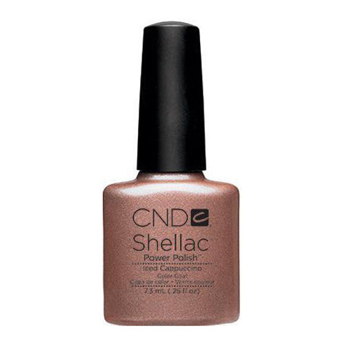 CND Shellac - Iced Cappuccino 0.25 oz - Milky Beauty