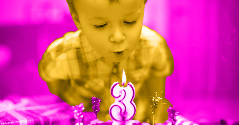 So you made it another year as a parent, and now it's time to celebrate: You've got a 3-year-old birthday party plan