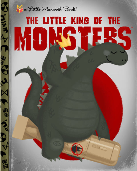 "Joey Spiotto ""The Little King Of The Monsters"" Print"