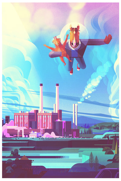 "James Gilleard ""Powerplant"" Print"