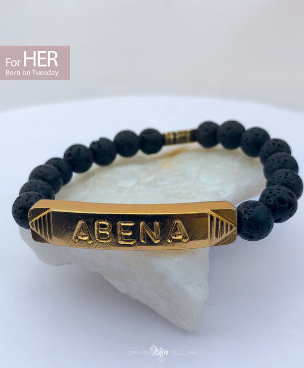 ABENA Identity Beads | For (HER) Born on Tuesday - SHOP | Orijin Boutique