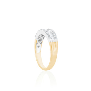 18ct Yellow Gold Aelina Diamond Dress Ring