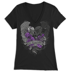 Love Beyond Death Skull Wings Apparel
