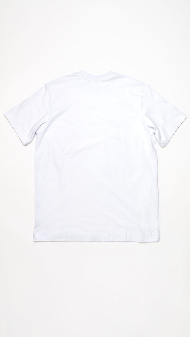 WHITE CORE T-SHIRT