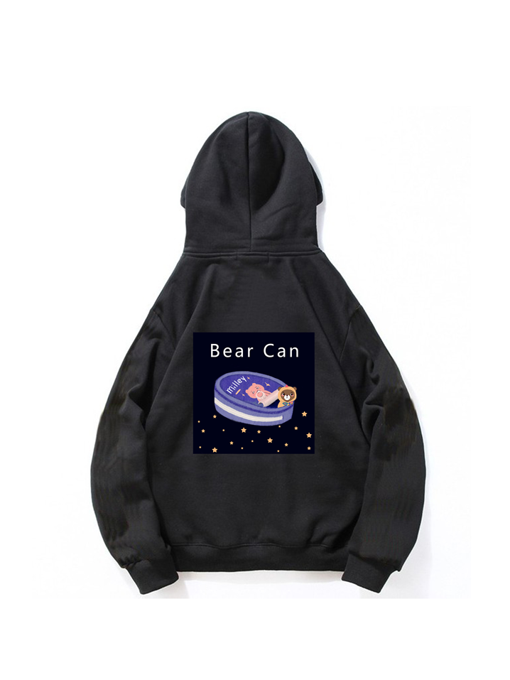 Modakawa Sweatshirt Black / M Modakawa Anniversary Limited Edition Hoodie : Bear Can